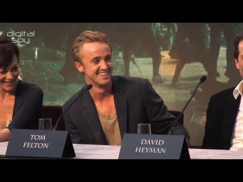 'Harry Potter and the Deathly Hallows Part 2' Press Conference (2/3)