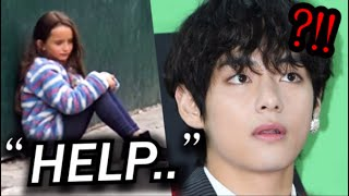 Download lagu BTS Taehyung Saved a Little Girl in Danger, What Happened at the Airport?