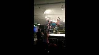 MCW wrestling championship. Kid heckles wrestlers. W0w