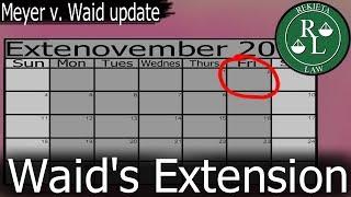 Rekieta Law - Mark Waid Comes Up Short, Files For Extension - Diversity & Comics