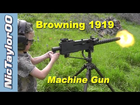 Shooting The Browning 1919