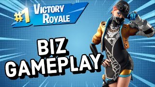 BIZ Skin Gameplay In Fortnite Battle Royale