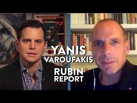 Yanis Varoufakis and Dave Rubin Talk Greece's Financial Crisis (Full Interview)