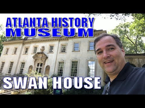 Swan House and the Atlanta History Museum