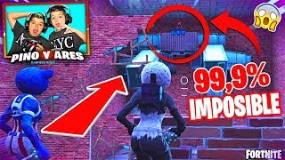 PARKOUR SECRET LEVEL 99.9% IMPOSSIBLE IN FORTNITE!!! #2 PINO & ARES
