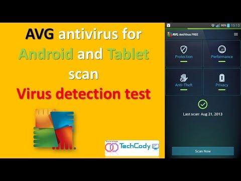 AVG Antivirus For Android And Tablet VIRUS Detection Test (techcody.com)