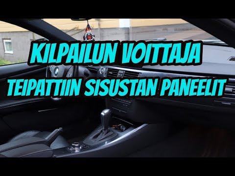 Sisustan Paneelien Teippaus - Autoveron Lähimmäksi Arvanneen Voittaja!