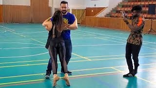 Brazilian Zouk Dance by Alisson Sandi & Oksana Andreeva at the 2019 Prague Zouk Festival