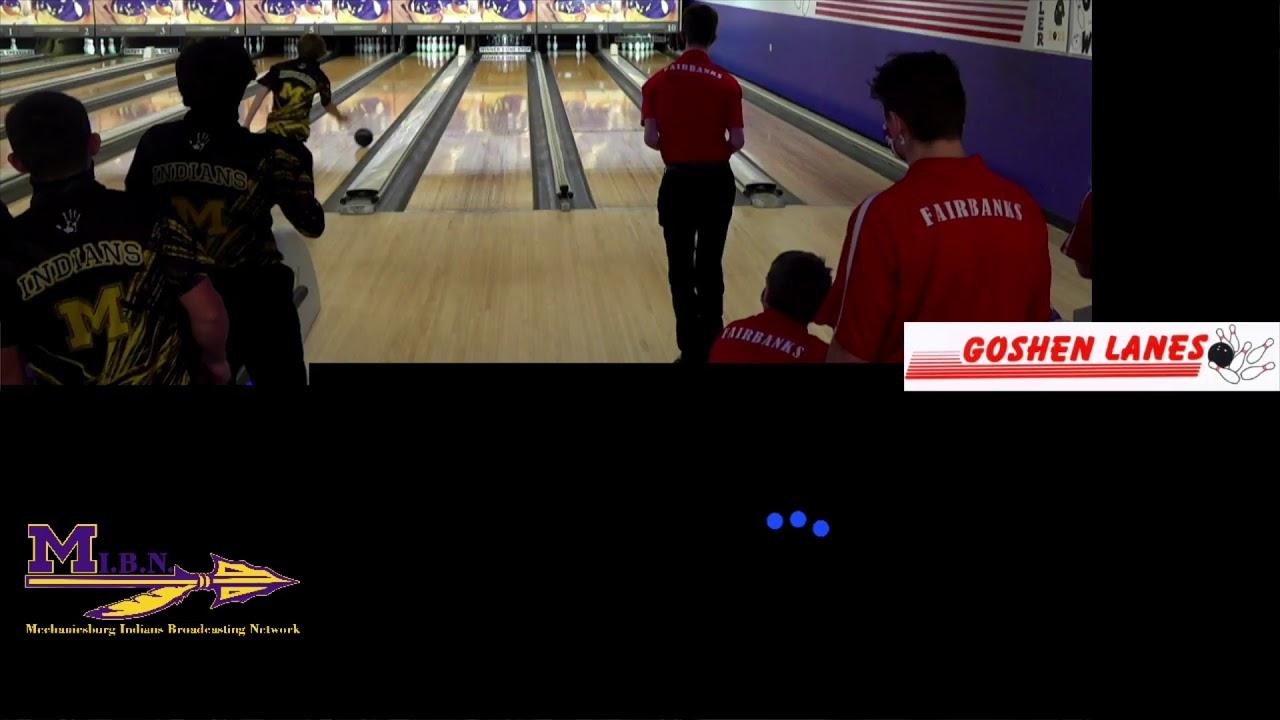 M I B N Mechanicsburg Indians Bowling Vs Fairbanks Panthers Go Burg Youtube