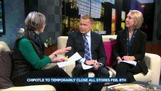 Food safety specialist talks about Chipotle closing stores to address food safety