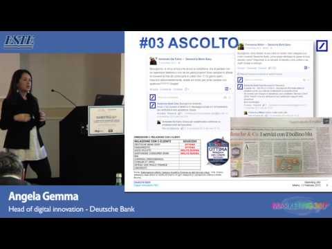 Angela Gemma, Deutsche Bank - Marketing 360° Milano 2015