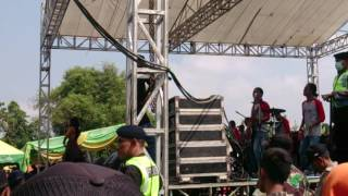 Devi Aldiva Bojo ketikung New Pallapa janti 27 Agustus 2016