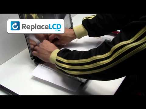 Toshiba Satellite LCD Screen Replacement Guide - Replace Fix Repair Install Laptop A300 A200