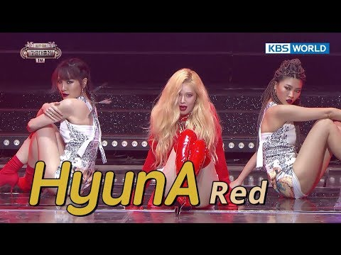 HyunA - Red | 현아 - 빨개요 [SUB: ENG/CHN/2017 KBS Song Festival(가요대축제)]