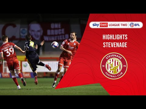 Crawley Town Stevenage Goals And Highlights