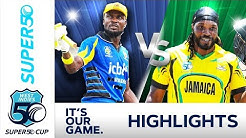 Chris Gayle Hits Century In Final Game For Jamaica | Super50 Cup 2018 - Extended Highlights