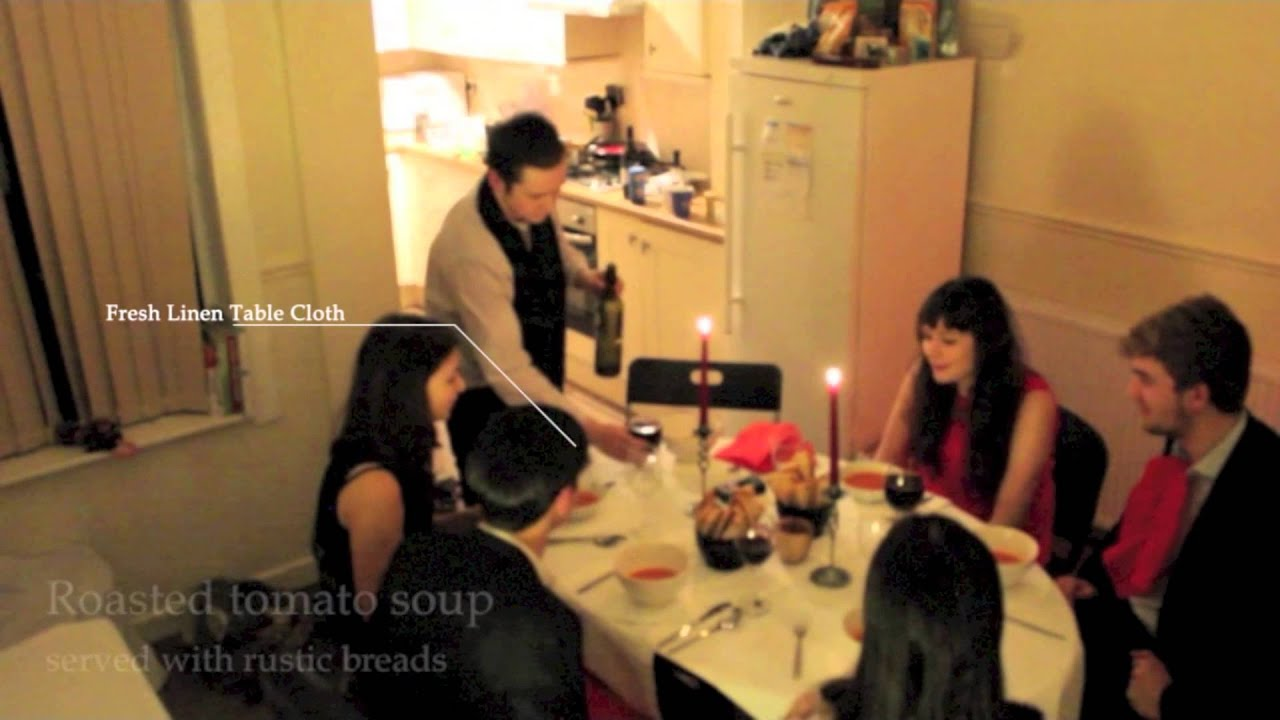 fancy dinner party - youtube