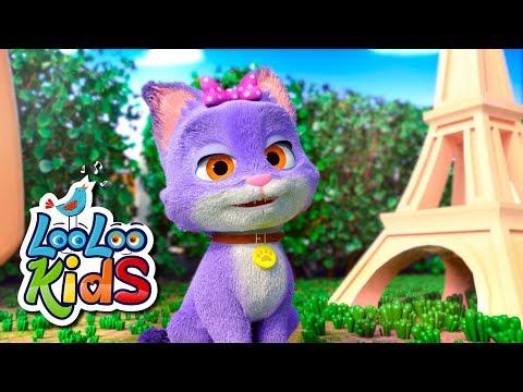 Pussy Cat, Pussy Cat - Nursery Rhymes & Kids Songs | LooLoo Kids