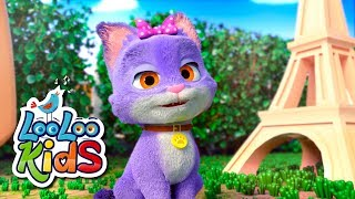 Pussy Cat, Pussy Cat - Nursery Rhymes & Kids Songs | LooLoo Kids