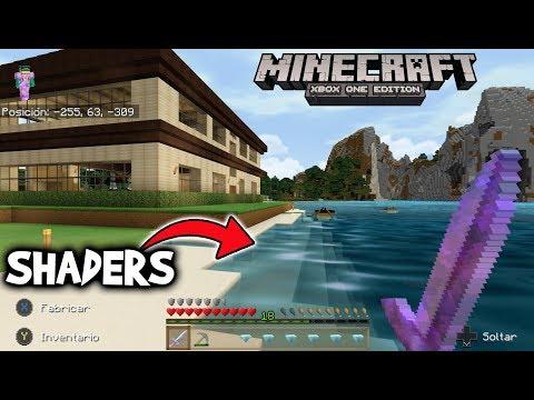 Jugando Minecraft Con Shaders Nostalgia Xbox One