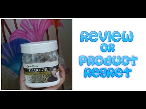 Review || Biocare Product || Snake Oil hair mask