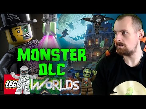 LEGO WORLDS MONSTER DLC GAMEPLAY - Monsterland - Let´s Play Lego Worlds Monster Deutsch | EgoWhity