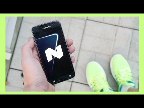 Official Galaxy S7 Nougat 7.0 Update Review!