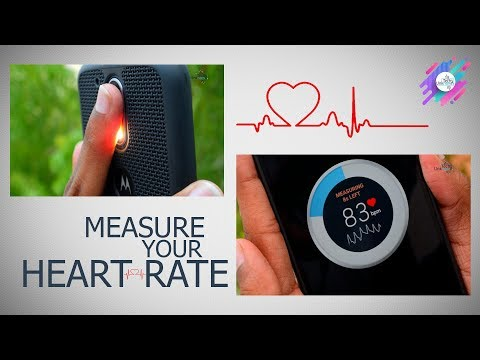 Measure your heart rate instantly