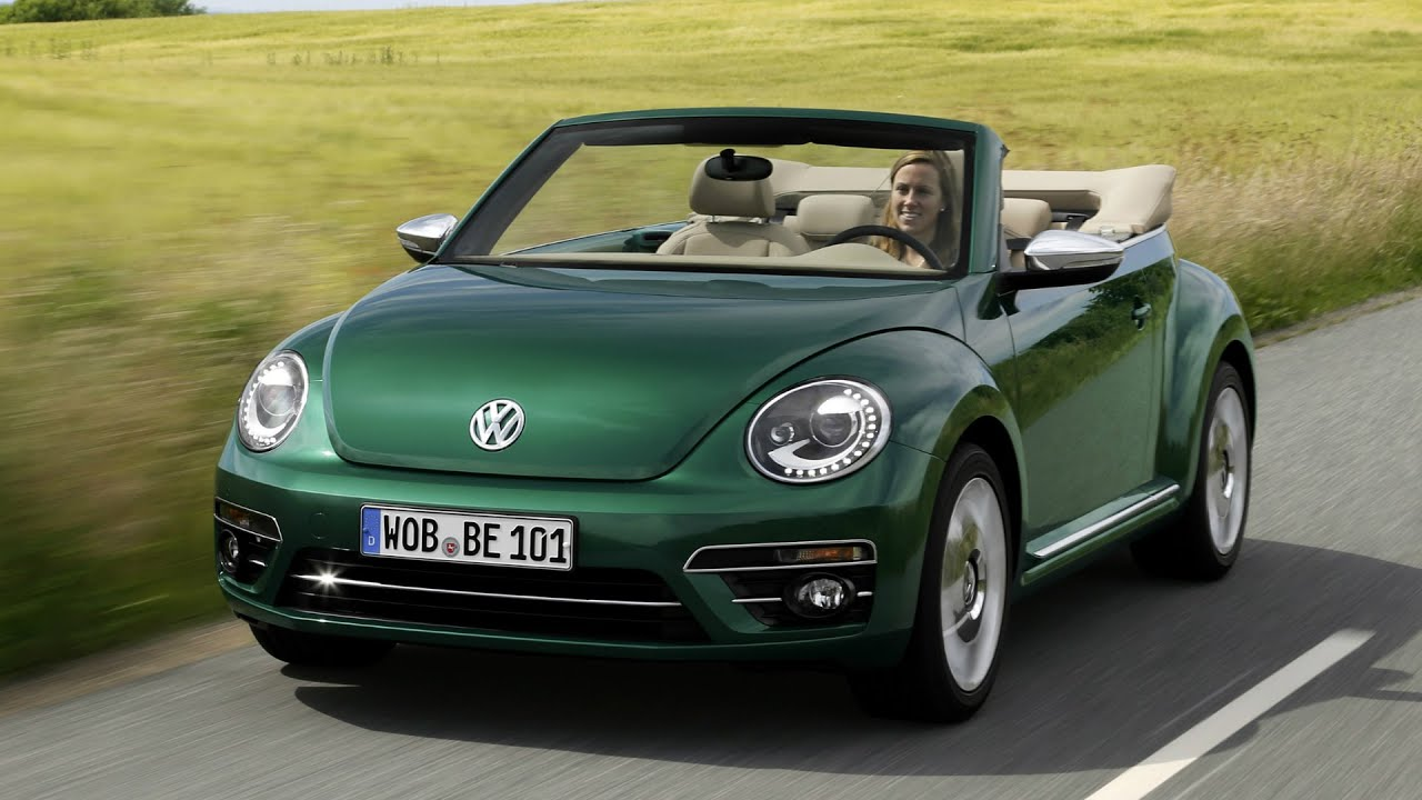 2017 volkswagen beetle cabriolet interior exterior and drive youtube. Black Bedroom Furniture Sets. Home Design Ideas