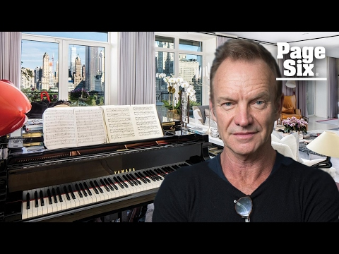 Sting is selling his rocking $56 million penthouse