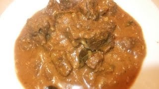 Beef Curry with Yoghurt
