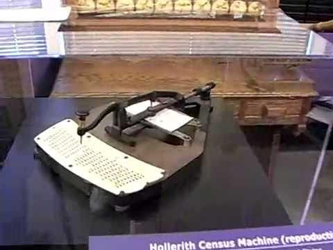 Hollerith Census Machine.mp4