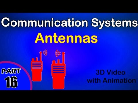 Antennas | Communication systems | class 12 physics subject