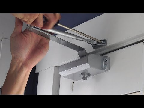How To Install Onarway Hydraulic Door Closer And Review