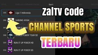 Gambar cover Zaltv Code Sport Channel November Terbaru 2019 Liga 1 Indonesia Semoga Aktif Sampai 2020