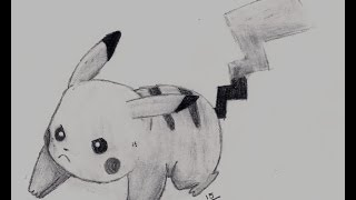 Dibujando a pikachu