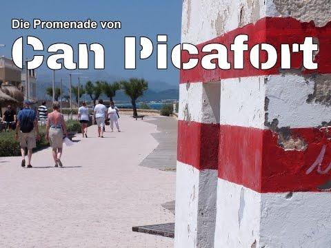 Die Promenade Von Can Picafort 2016