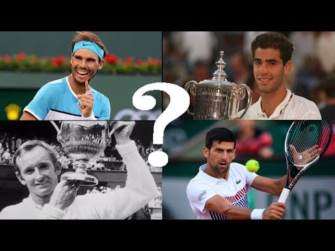 Who is the 2nd greatest tennis player of all time?