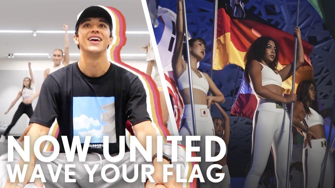"Now United ""Wave Your Flag""   Kyle Hanagami"