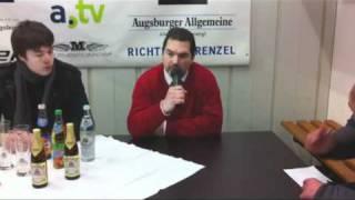Gambar cover EISHOCKEY-MAGAZIN: Pressekonferenz Augsburger Panther - EHC München