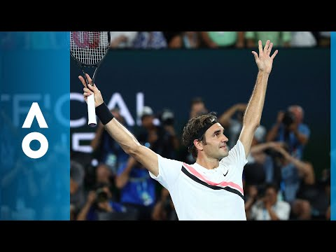Roger Federer v Marin Čilić match highlights (F) | Australian Open 2018