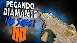 SPITFIRE + NUKETOWN = DESTRUIÇÃO! - PEGANDO DIAMANTE NAS SMGs! - Black Ops 4