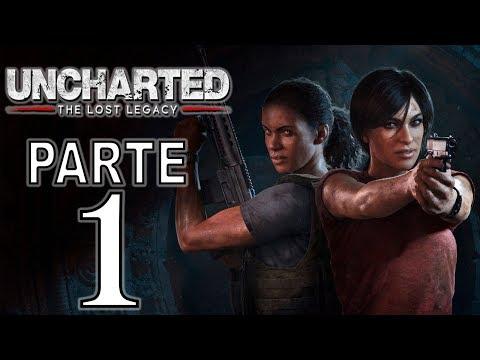 Uncharted: The Lost Legacy | Gameplay en Español Latino | Parte 1 - No Comentado (PS4 Pro)