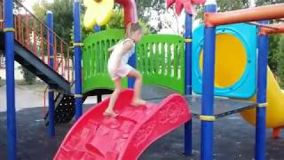 Outdoor Playground for kids Family Fun ABC song | Baby Nursery Rhymes Songs Toys And Milli