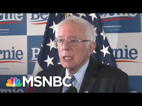 Bernie Sanders Hopes To Focus On 'Issue Oriented Campaign'   Katy Tur   MSNBC
