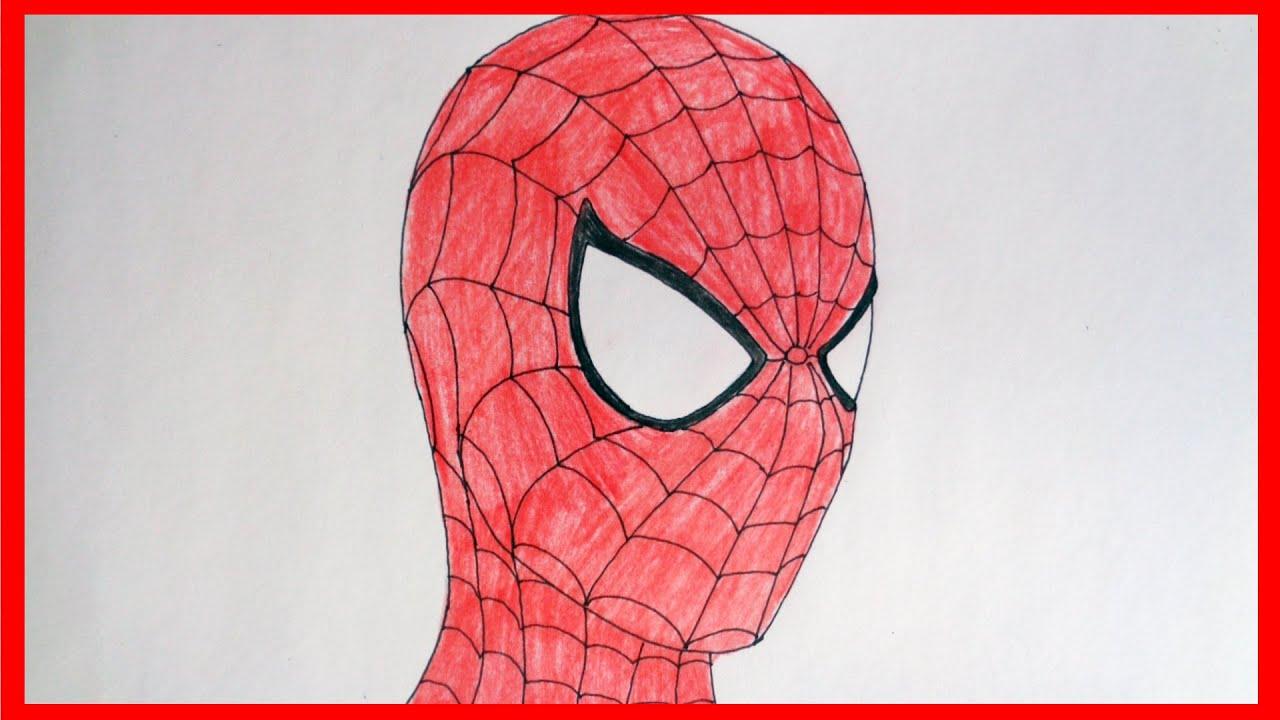 spiderman tegning