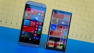 HTC One M8 for Windows vs Lumia Icon