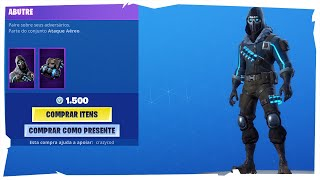 * NUEVA PIEL * FORTNITE ITEMS STORE-TODAY'S STORE AGOSTO 31ST,2019 (ABUTRE)
