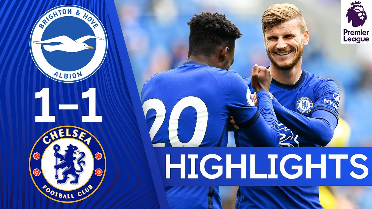 Download Timo Werner's First Chelsea Goal | Brighton 1-1 Chelsea | Match Highlights & Frank Lampard interview