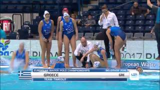 Greece vs Hungary waterpolo 2016 highlights